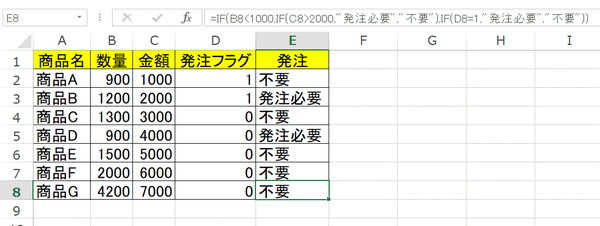 IF関数の説明4